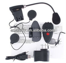 Bluetooth Intercom Headset for Motorcycle Helmet---Intercom Range 500m--BT01