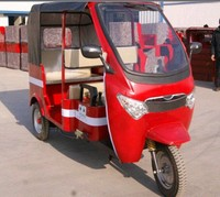 new arrived 850w motor battery operated rickshaw for india market