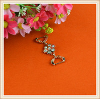 small fancy metal trim attractive metal furniture trim/ crystal rhinestone trim for shoes/cloth/bags