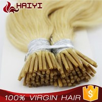 Top Grade Human Hair Factory Whosale factory price I tip hair body wavy
