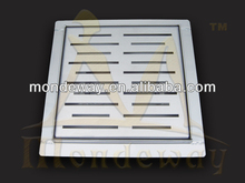 HOT SALES stainless steel square drain for Eurpean design SHINING or BRUSHED FACE WITH HIGH QUALITY