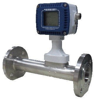 Oxygen/Nitrogen/Helium/Compressed air/Argon In-line Gas Mass Flow Meter for process gases monitor