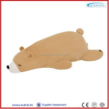 wholesale soft stuffed bear sleeping teddy bear toy plush polar bear