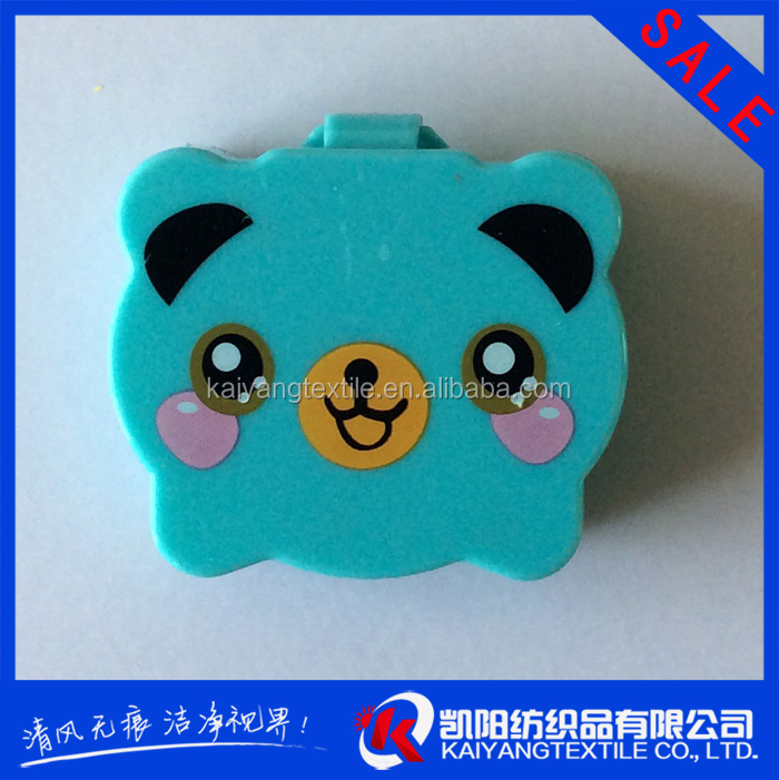 cartoon image factory direct acrylic contact lens case