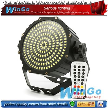 party strobe light / 189 infrared ray strobe flat par / wihte led flat strobe par
