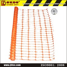 Plastic Orange Temporary Crowd Portable Barrier Fence