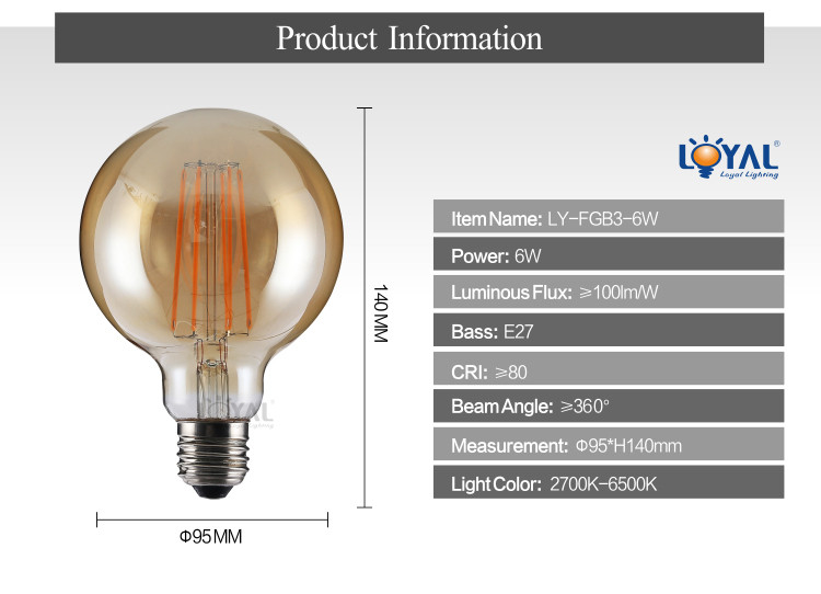 Indoor cheap 12V-240V IP20 glass vintga edison cob a40 a50 a60 a70 a80 e14 e27 2w 4w 6w 8w led filament lamp