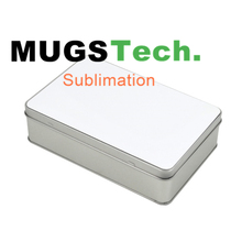 Sublimation Metal Storage Candy Tin Box Rectangle