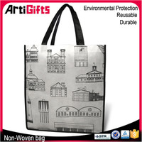 Factory direct sale eco friendly non woven shopping tote bag