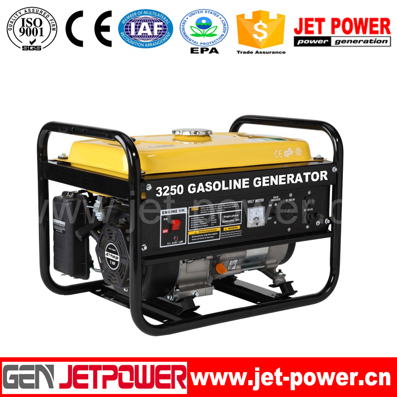 6kw air-cooled gasoline oil top land generator price