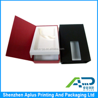 High quality recycled material custom paper printed box mobile phone packaging