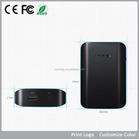 Manufacturer Hot mobile phone portable charger 6000mah power bank, extra backup battery charger