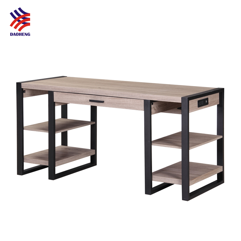 Downview Lowes Portable Writing Mm Industries Formica Executive Price Frame Desk Computer Pc Desktop Metal Table