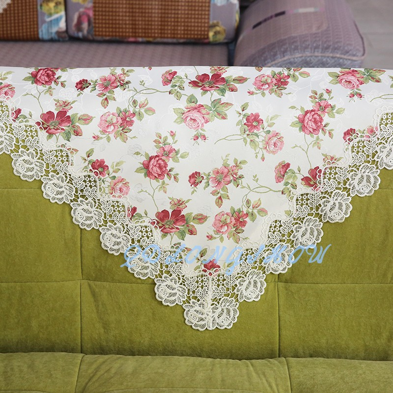Trade Assurance manufacturer direct supplier rosette satin table cloth table cloth lace fabric