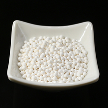 "White Activated Alumina Beads 3/4"" Compressed Air Filter Desiccant"