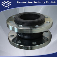 DN200 Rubber Exhaust Bellows Expansion Joint with Rotary Flanges