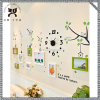 Family Tree Wall Decal Photo Frame Chinese Character Stickers