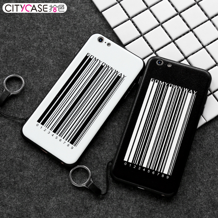 citycase 3D Barcode Custom Design Mobile Phone Case For Apple iPhone Cases