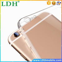 For iPhone6 TPU Soft Case Protect Camera Cover Crystal Clear Transparent Silicon Ultra Thin Slim Shell for iPhone 6s Plus