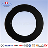 Concrete pump spare parts round flat rubber gasket seals