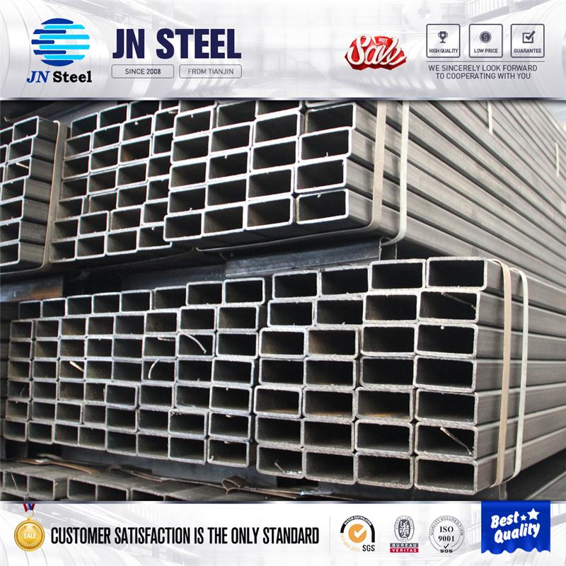 black steel square pipe stainless steel tubing with great price