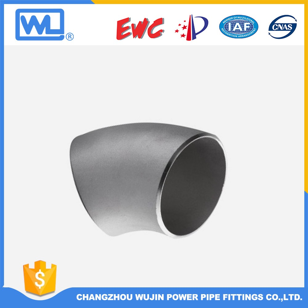 304 Stainless Steel Pipe Fitting 90 Degree Elbow