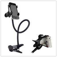 High quality iron phone car holder , Function bike phone holder , convince for watching .