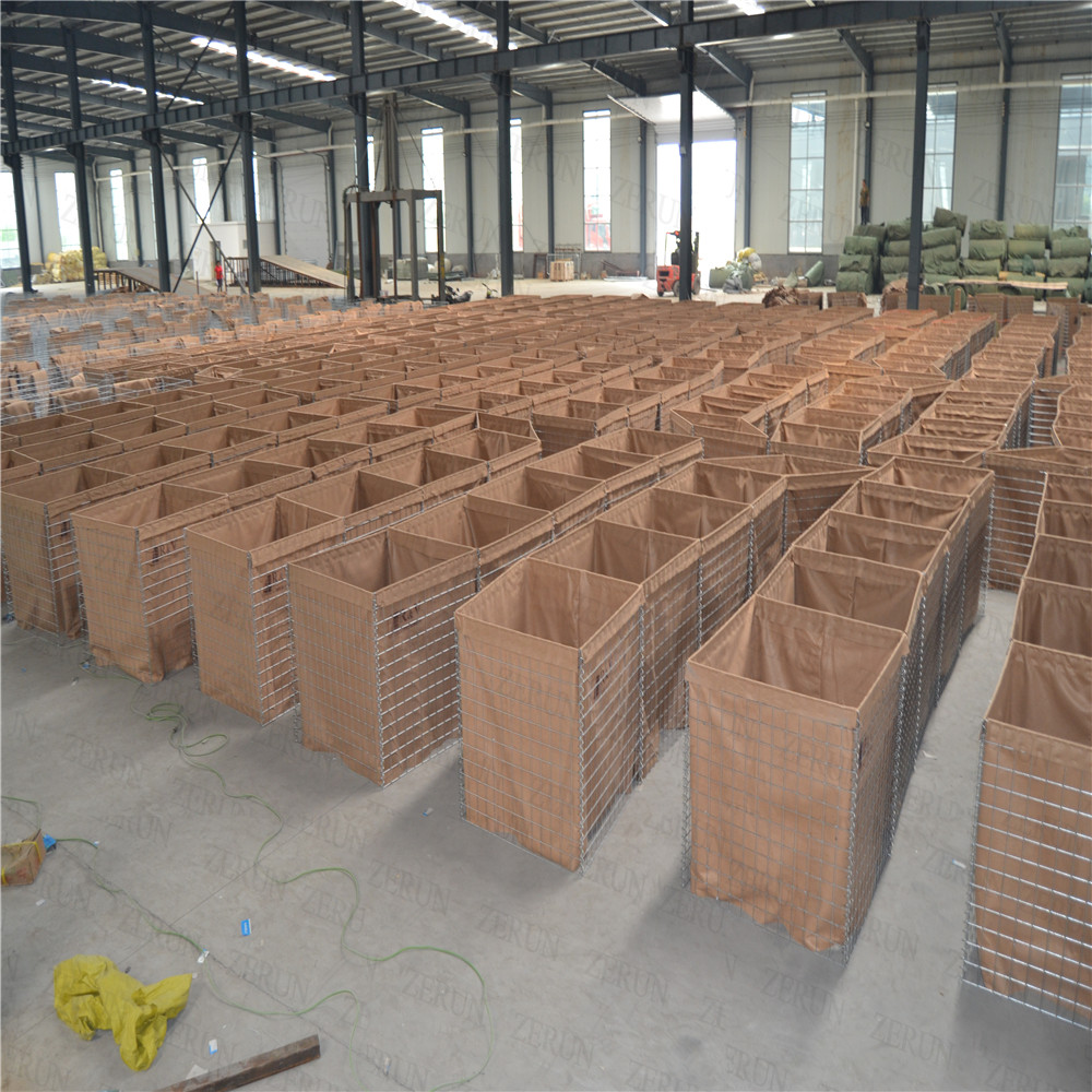 Military Mil sand filled Concertainer units/Defence Hesco bastion / Hesco Barriers