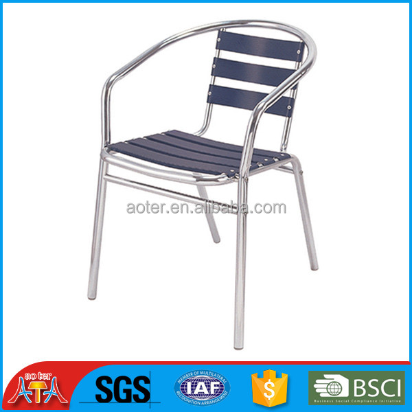 Colored aluminum chair