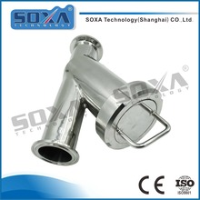 Sanitary DN15 Stainless Steel Clamped y Type Filter