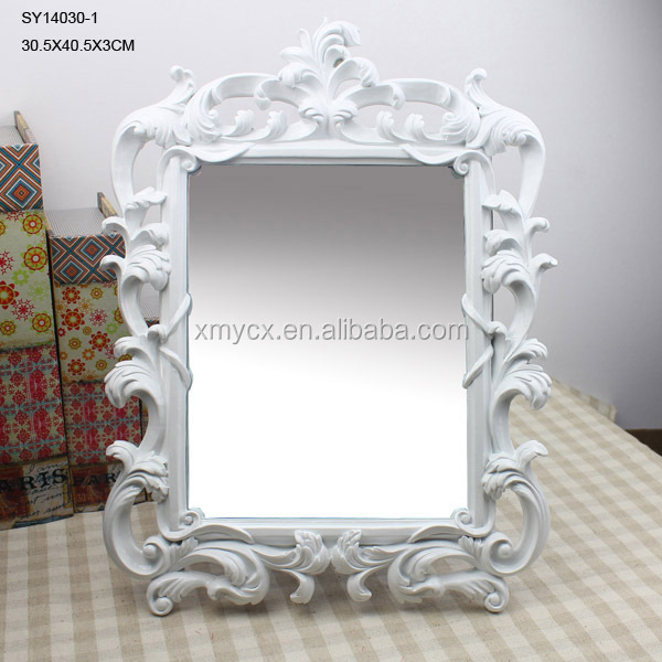 Resin tabletop decorative mirror for sale buy for Fancy mirrors for sale