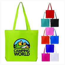 2019 Promotional Customized Large Capacity 600D Polyester Tote Hand <strong>Bag</strong> And High Quality Eco-friendly Durable Shopping <strong>Bag</strong>