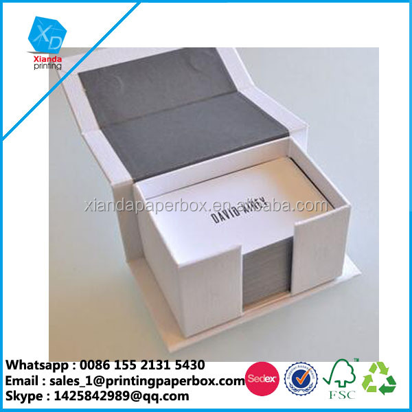 1200 gsm recycle business card box elegant magnetic gift box wholesale