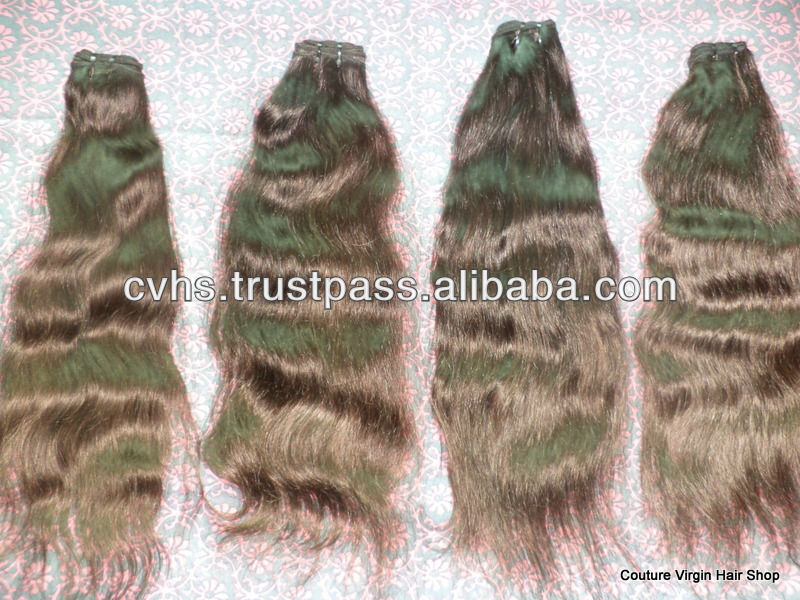 COUTURE VIRGIN HAIR SHOP, INDIA, Direct FACTORY Sale of VIRGIN INDIAN HAIR WEFT