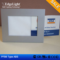 Edgelight PF6 lighted acrylic signs , single sided photo frame , table standing cheap price design frame LED display
