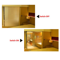 Switchable Privacy Smart Film Magic Glass for Bathroom