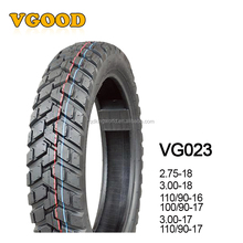 Factory Direct Selling Cheap Good Quality China Motorcycle Tire and Tube 110/90-16