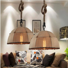 2016 Modern Pendant Lamp Vintage Industrial Lamp Square Round Metal or Wood Decorative Hanging Pendant Ligh
