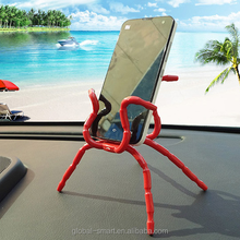 Spider shape tablet mobile phone flexible holder with cheapest promotional prices