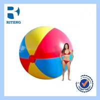 hotsale promotional custom PVC inflatable giant beach ball