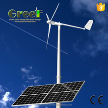 2kw wind power and 3kw solar power hybrid system, on grid 5kw solar wind hybrid system price