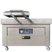 Price for cooked food vacuum packaging machine with Double chamber DZ-500/2SB