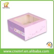 Your choice a4 size paper box paper donut packaging box food grade paper box