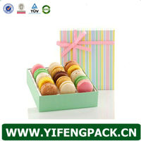 Eco Friendly Customized Paper Macaron Cake