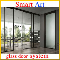 Office tempered glass doors