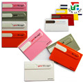 2016 New Customised logo colorful credit card shape USB flash drive cheap