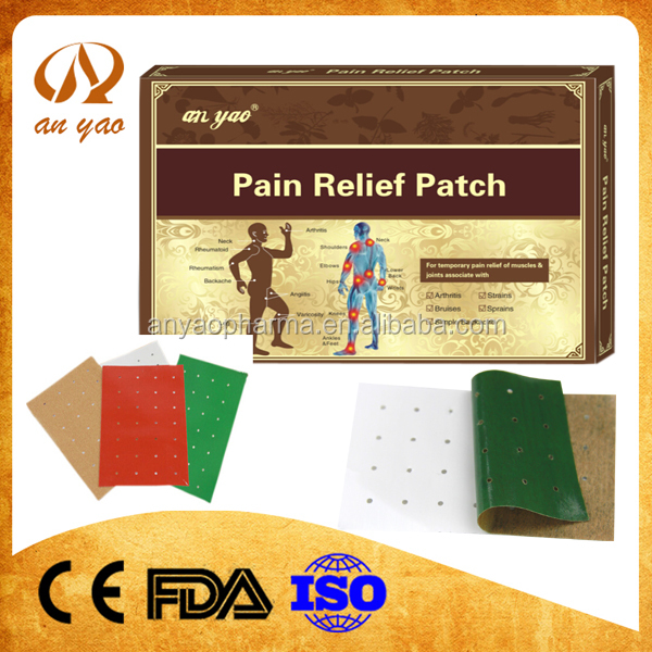 chinese herbal magnetic patch for pain relief, ( acupuncture patch)pain relief patch