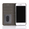 Fashion new design magnetic flip cover phone case for iPhone 7, pu leather case wallet phone case for iPhone 6 With Card Slots