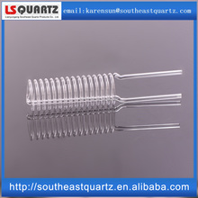 Clear quartz glass coil tube heat-resistant glass tube