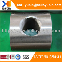 High Quality Forging Universal Joint, Alloy Steel Machining Parts With ISO 9001